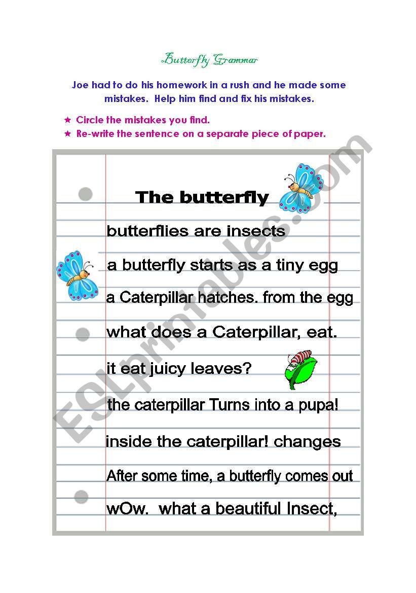 Butterfly Grammar
