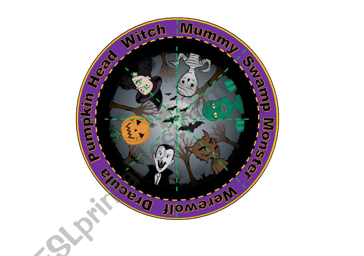 Halloween Creatures Puzzle 16 Piece Puzzle With 6