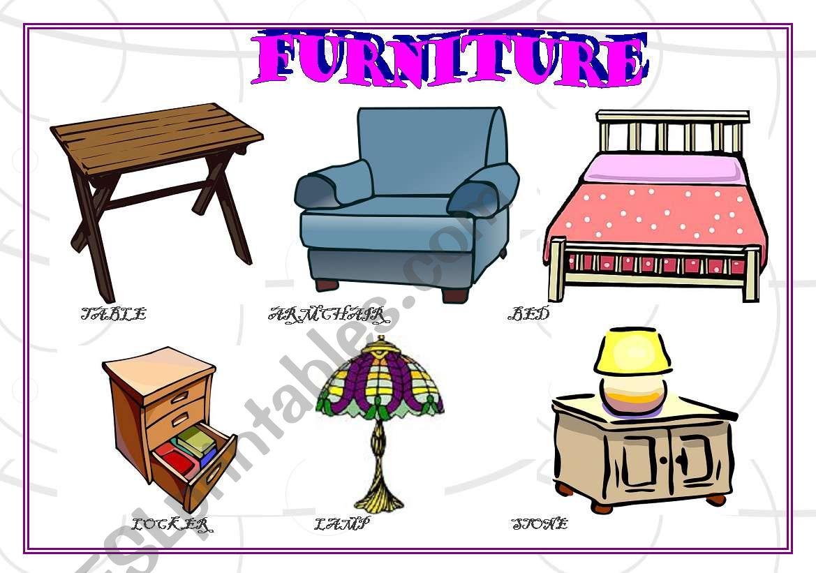 Furniture Part 1