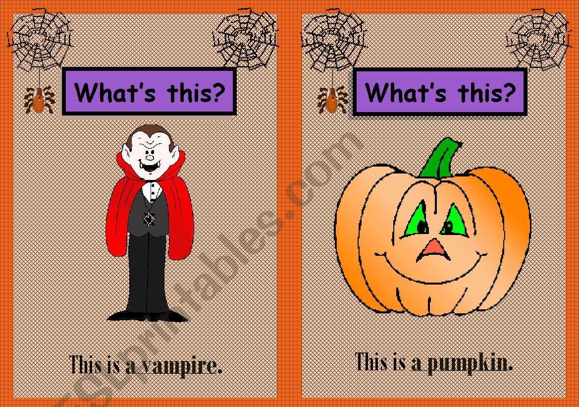 Halloween Flashcards 1 3
