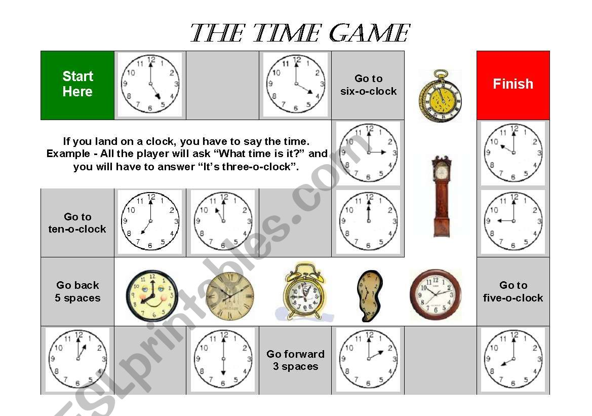 Time Board Game