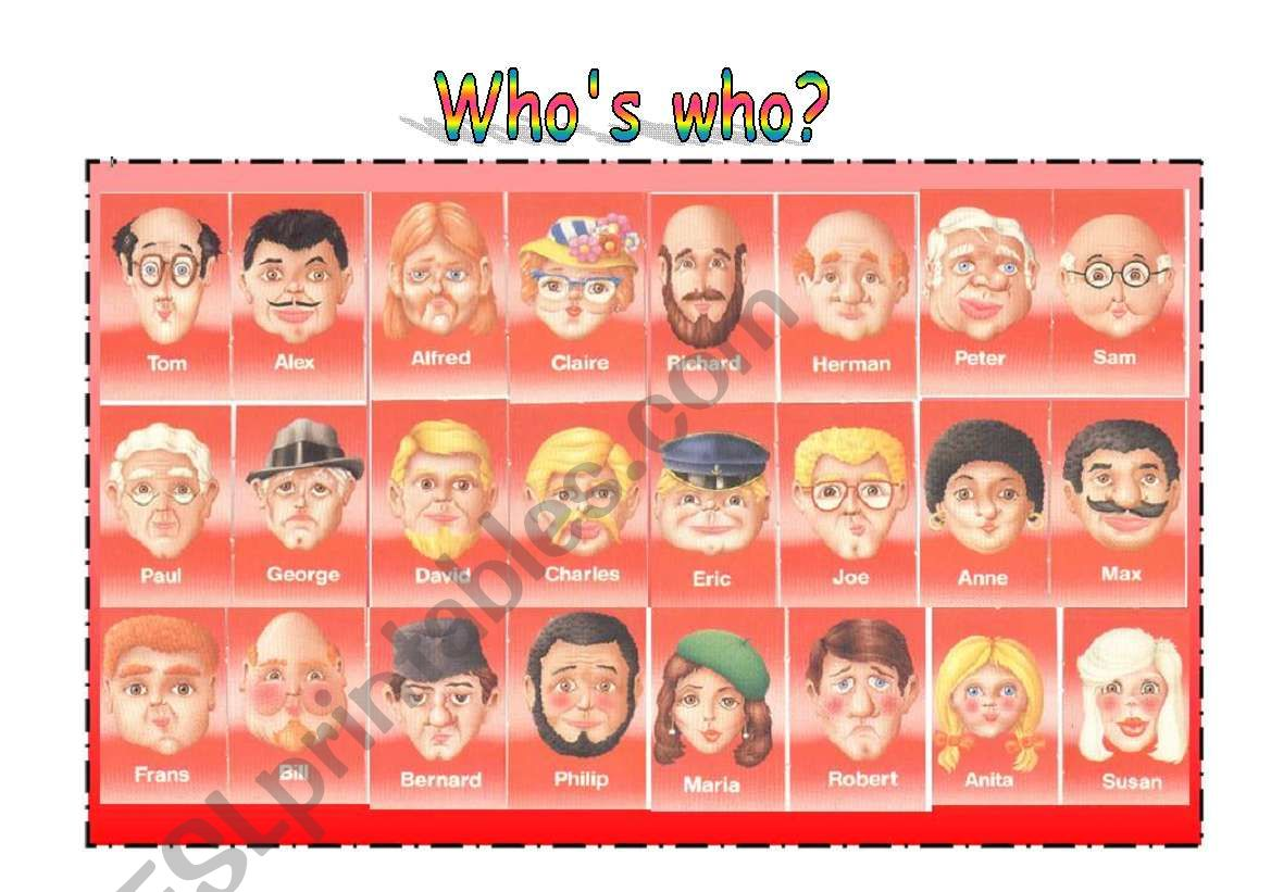 Who S Who