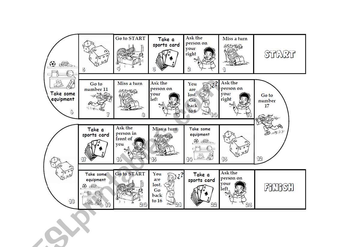 Sports Boardgame