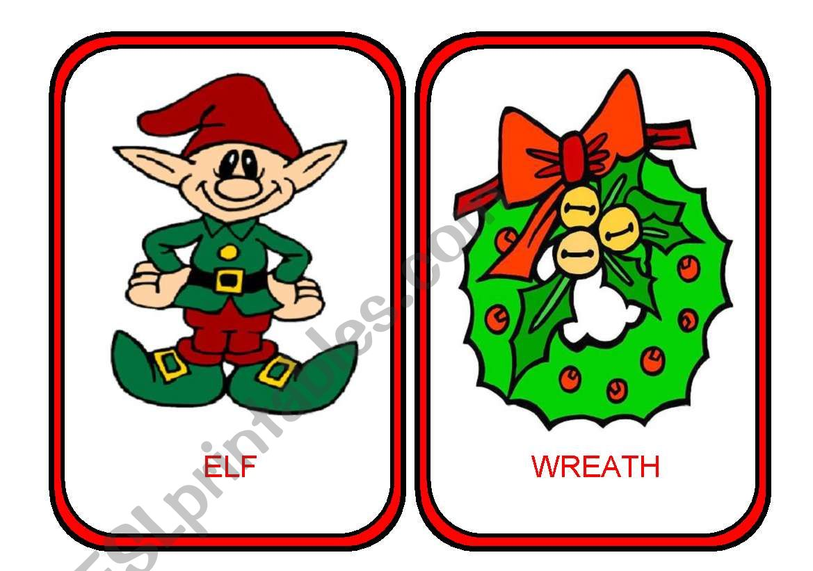Xmas Flashcards