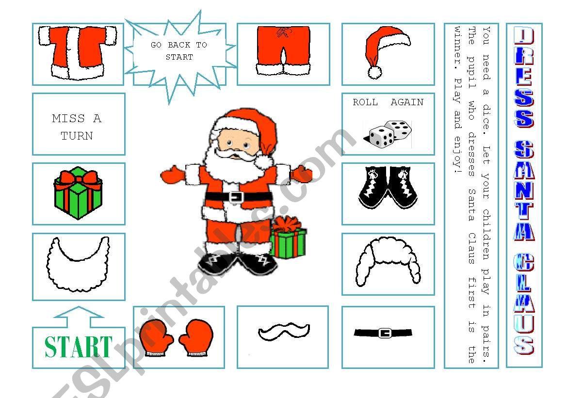 Dress Santa Claus