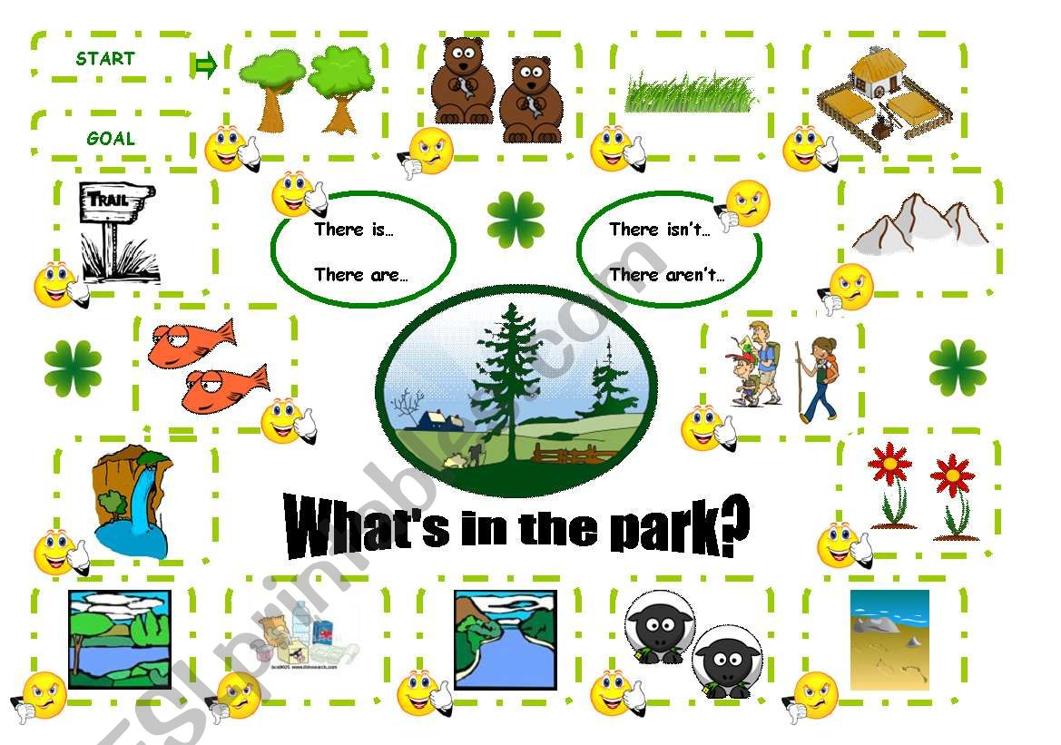 What S In The Park Board Game There Is There Are There