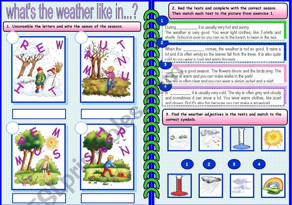 Weather And Seasons 2