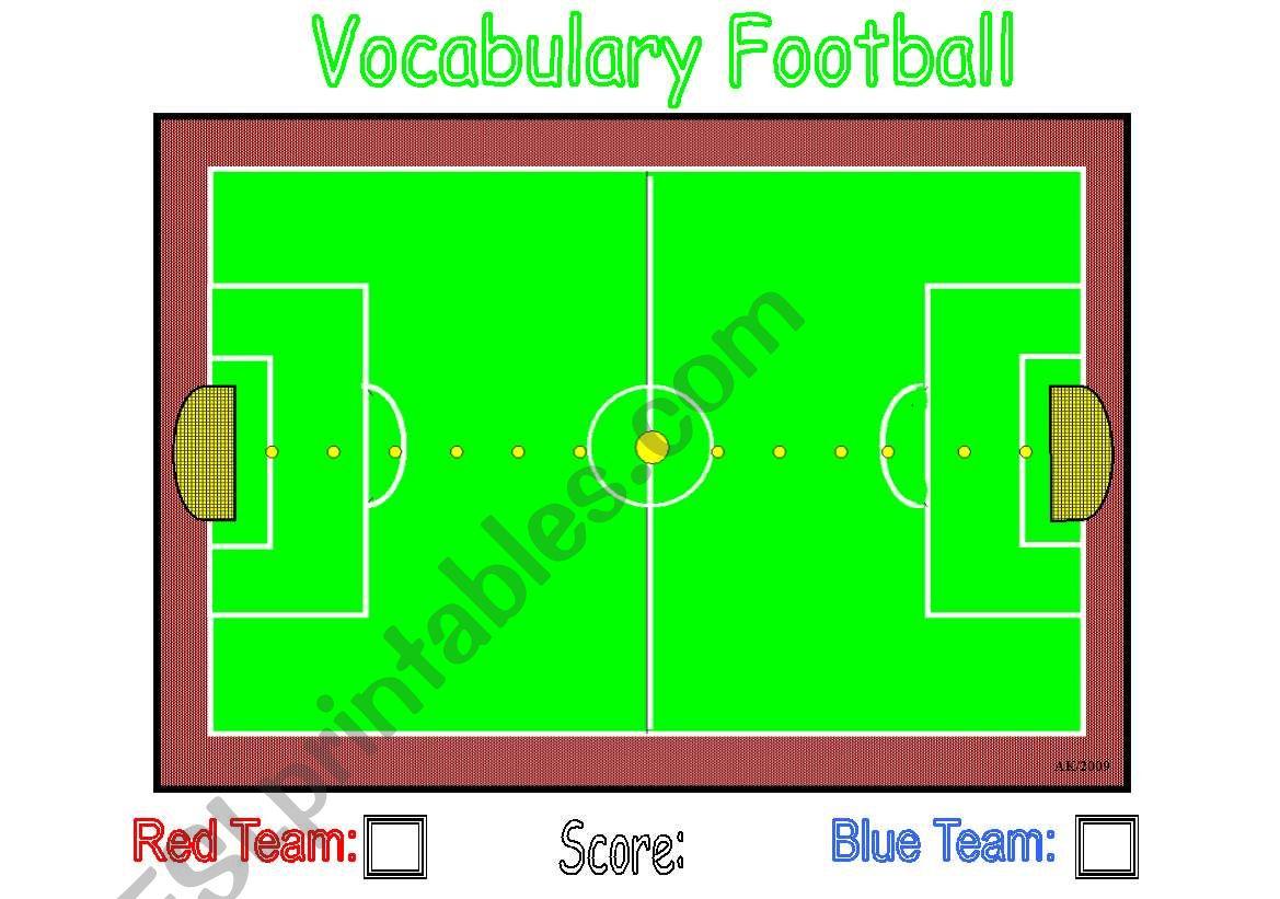 Vocabulary Football