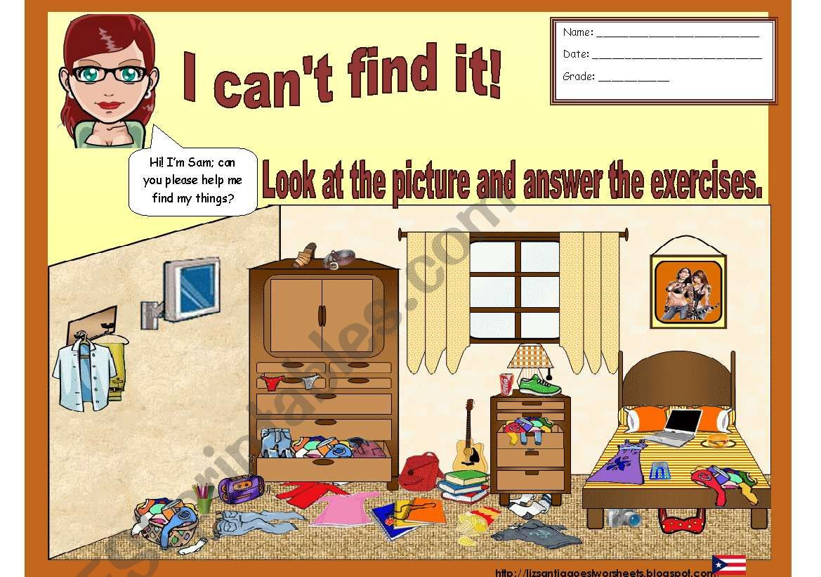 I Cant Find It