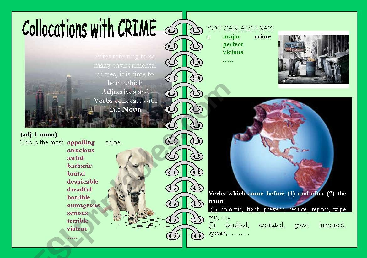 Collocations With Crime