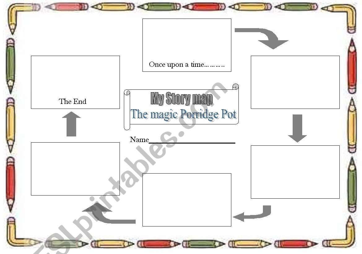 English Worksheets Story Map To Fill In For Yr 1 The
