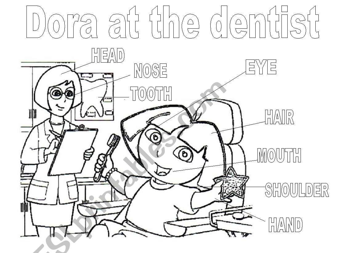 Dora The Explorer At The Dentist