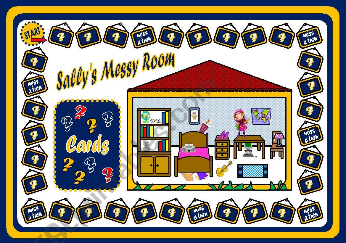 Sally S Messy Room
