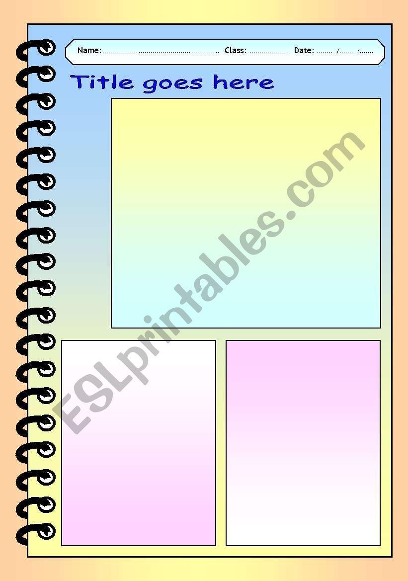 English Worksheets Free Worksheet Template Amp Layout