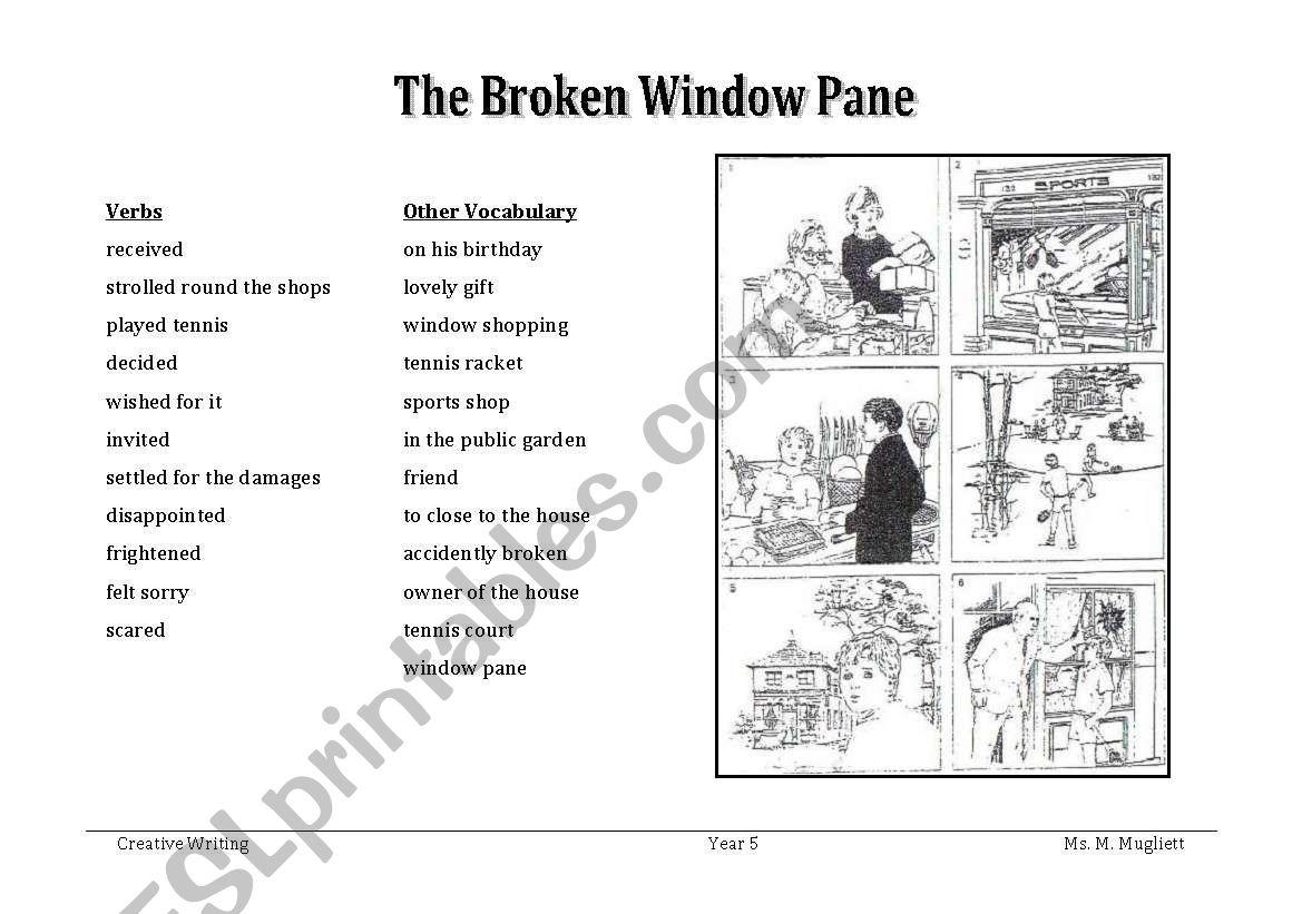 The Broken Window Pane