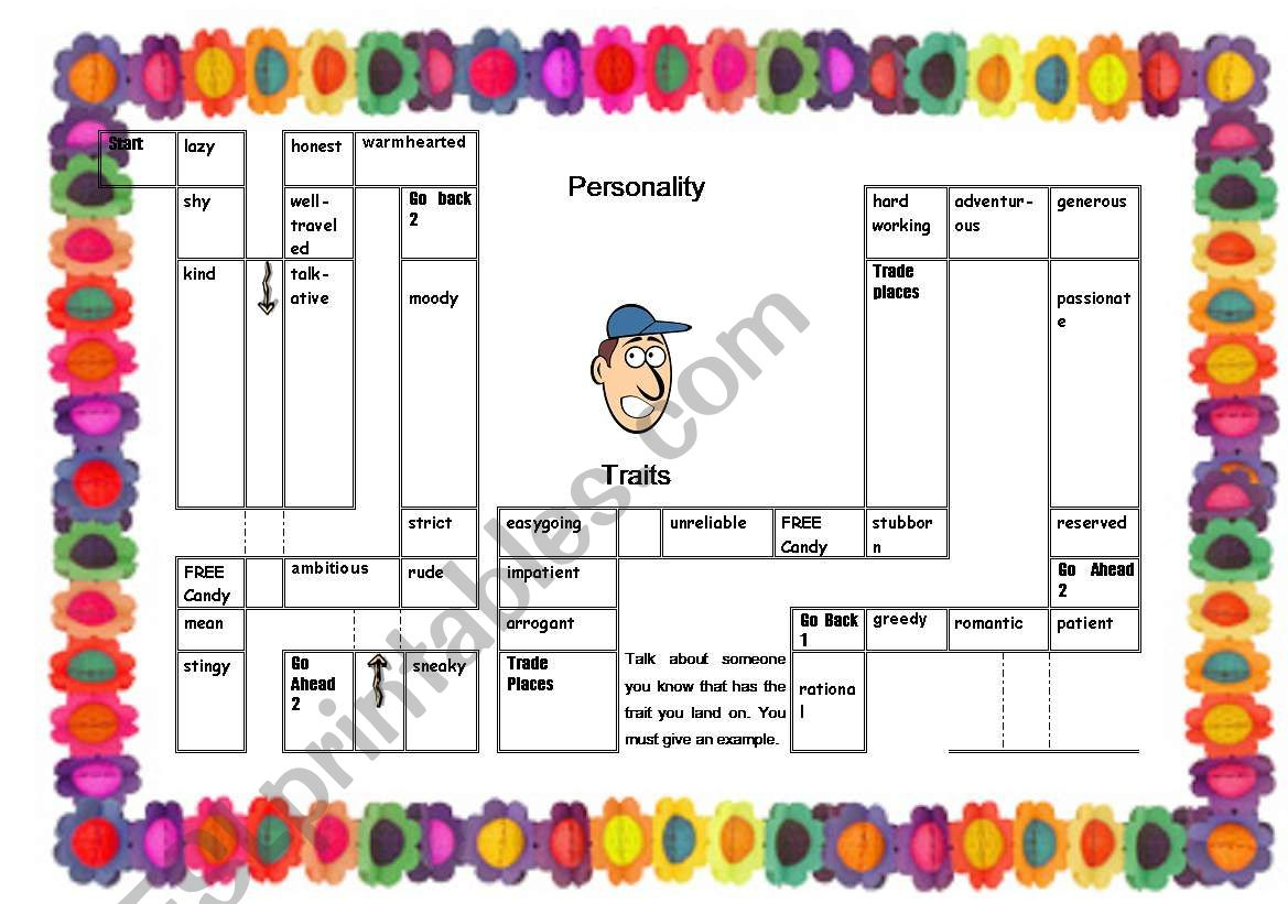 Personality Gameboard