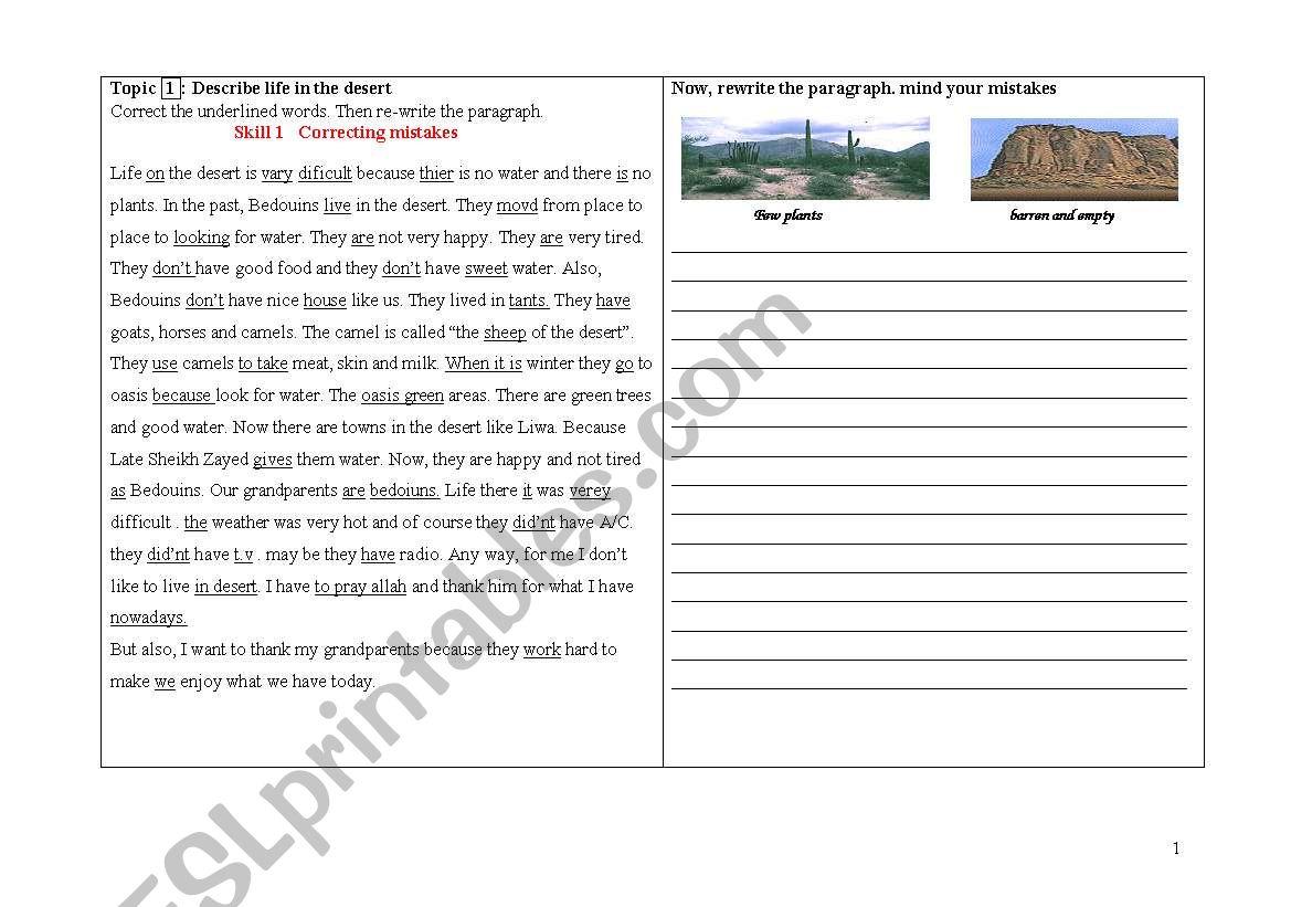 Fsa Writing Practice Worksheet