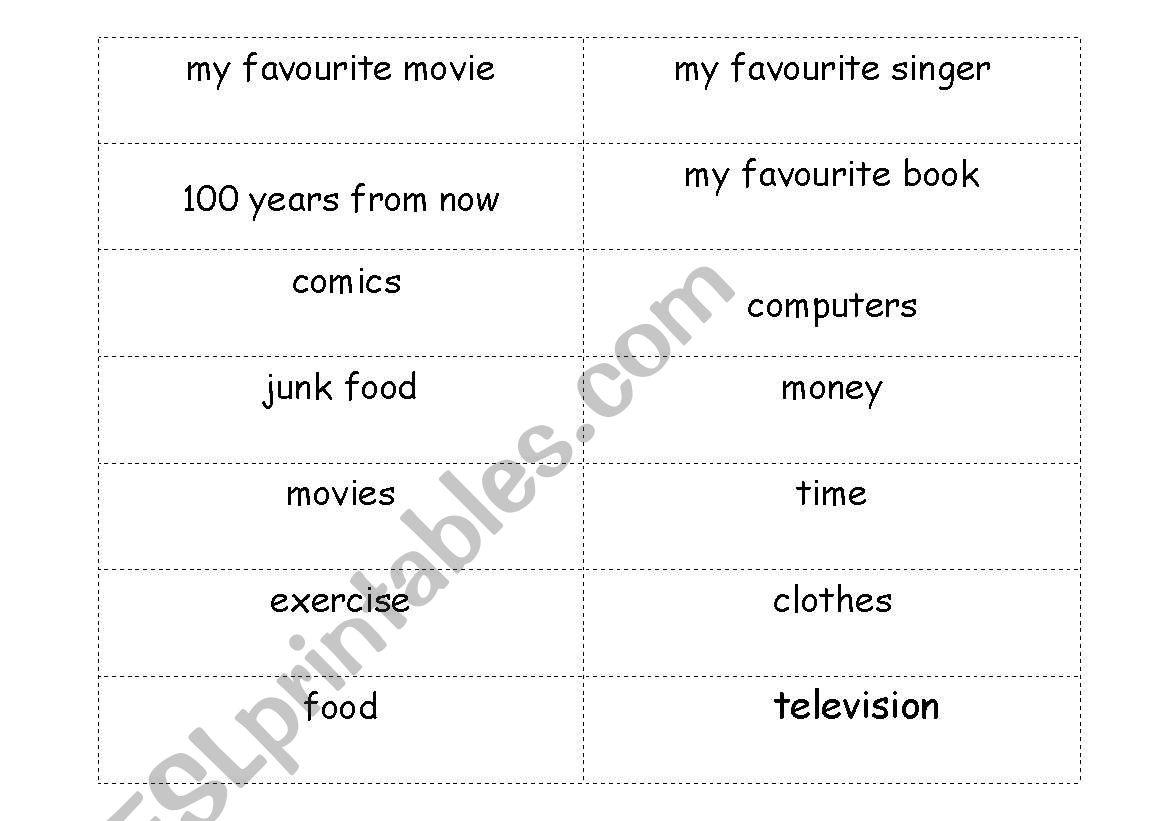 English Worksheets Easy Impromptu Speech Topics