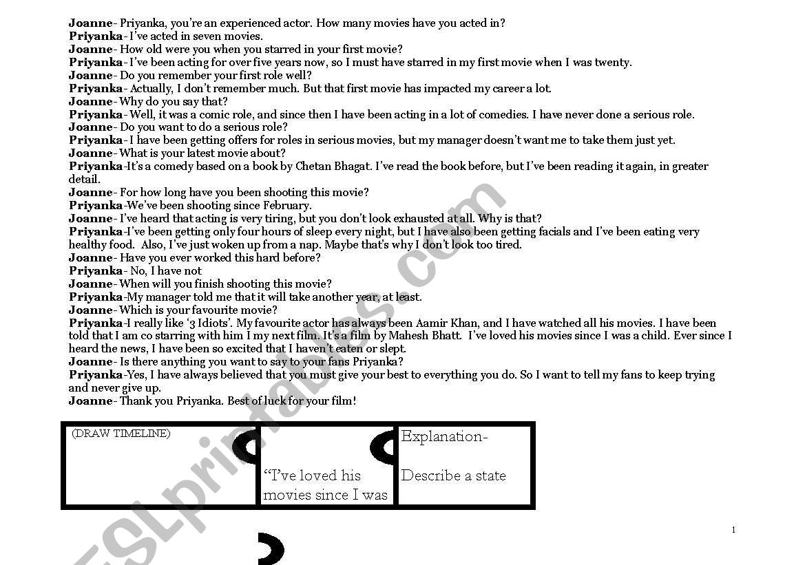 English Worksheets Present Perfect Continuous Tense And Simple Lesson Plan