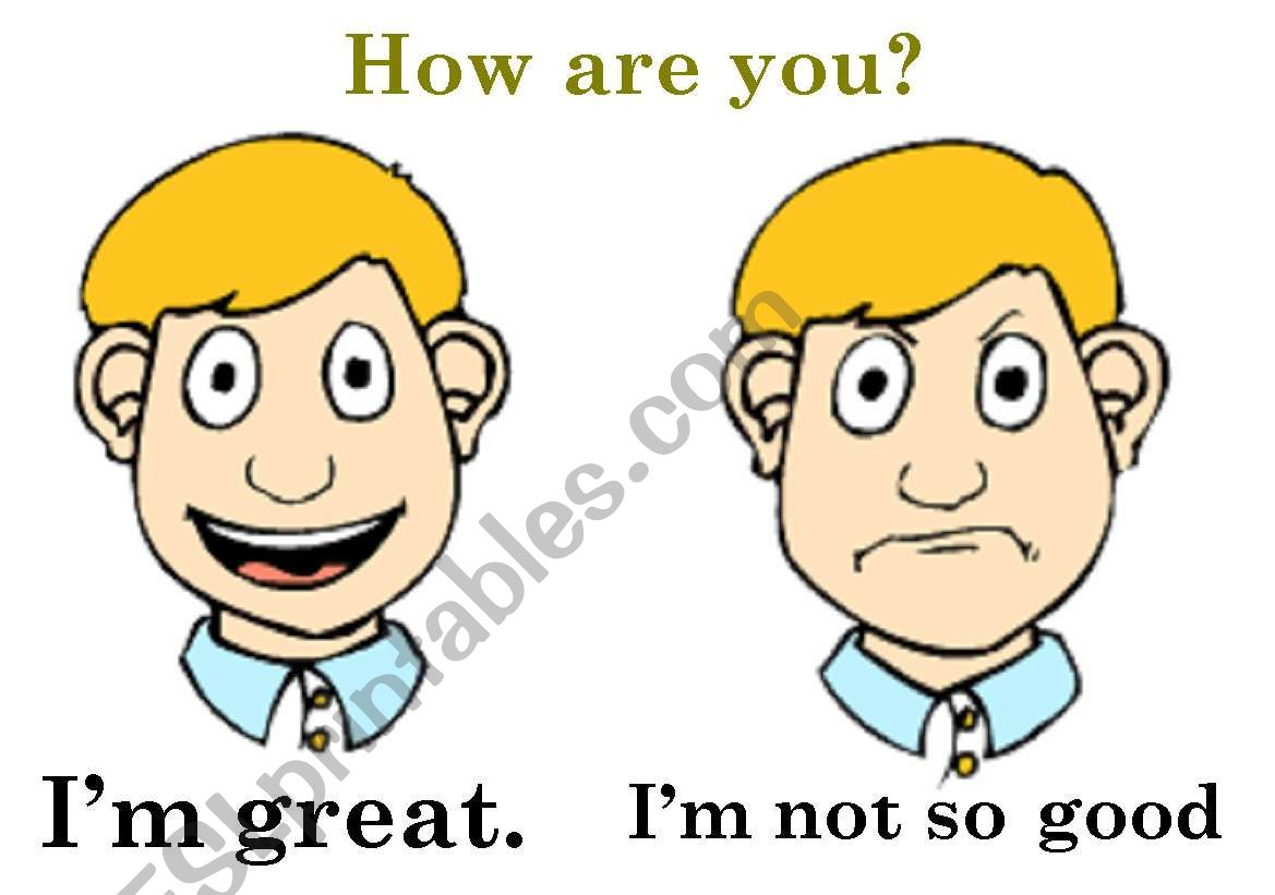 How Are You I M