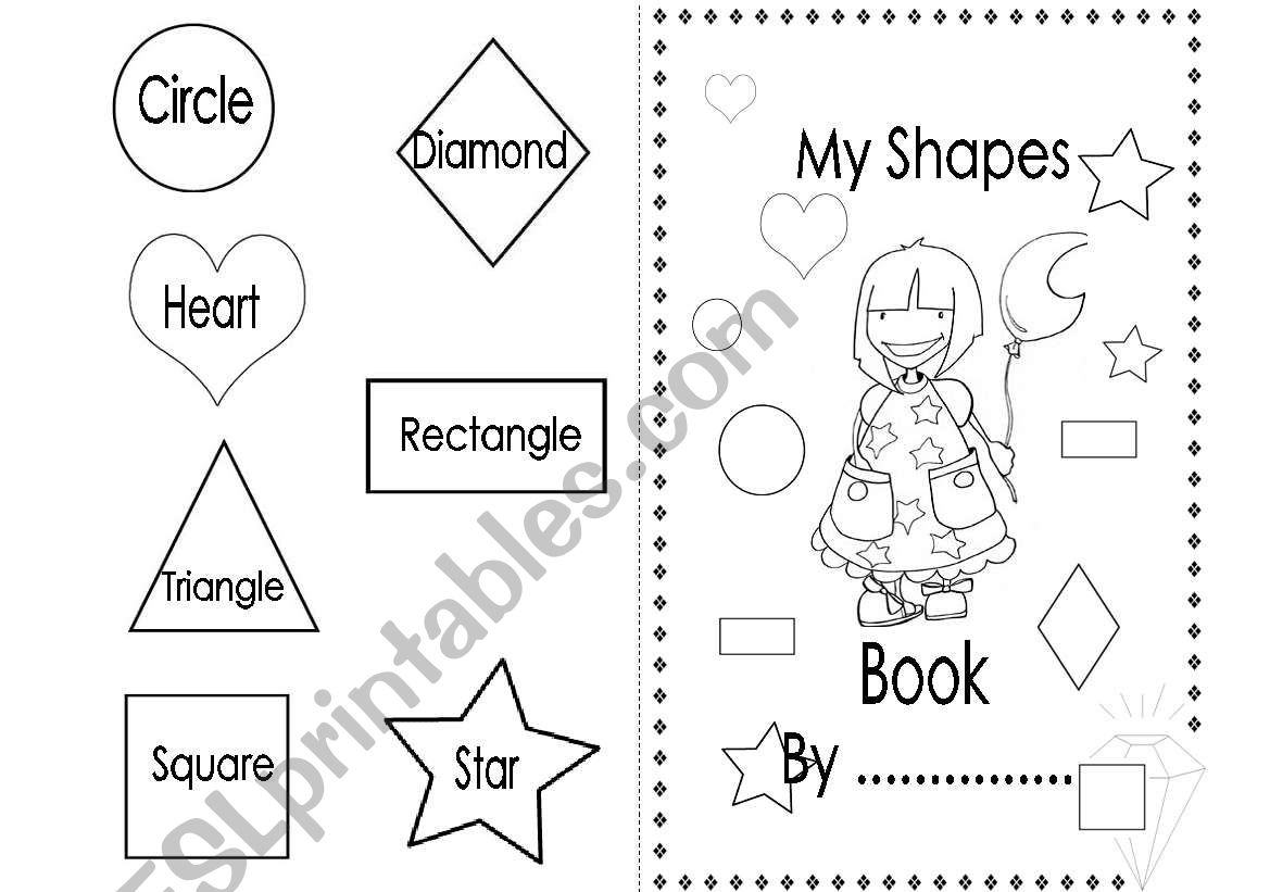 My Shapes Book Girls