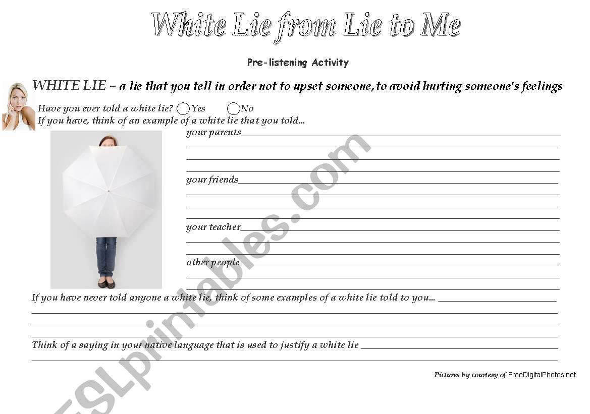 White Lie Song From Lie To Me Series 3 Wss