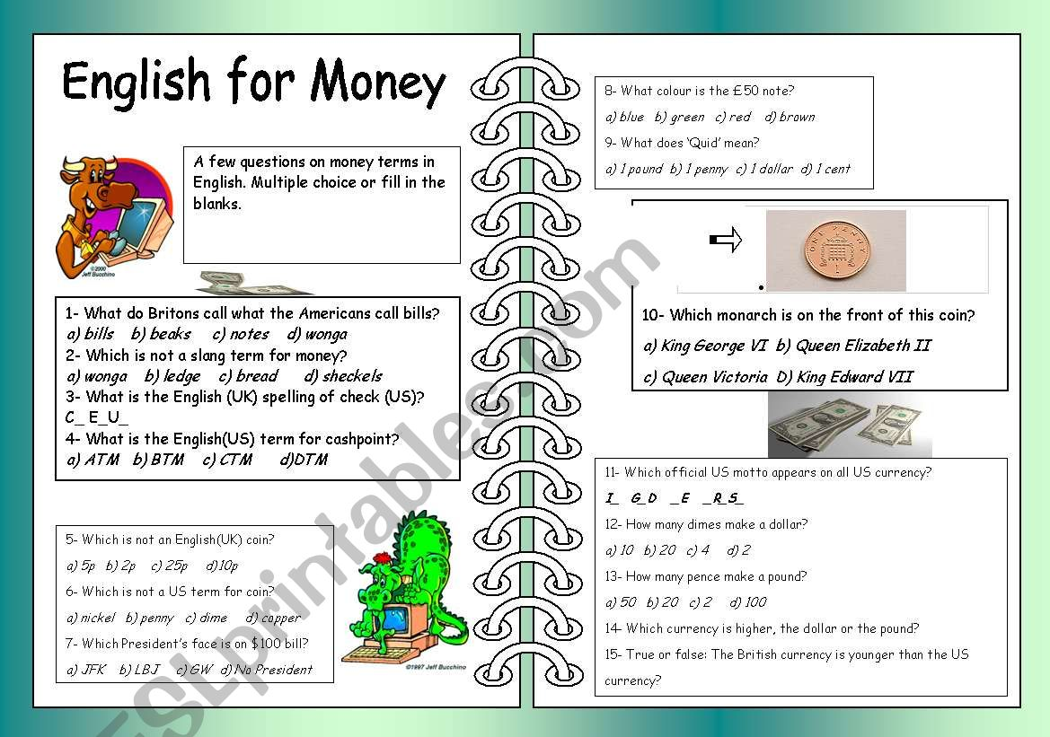 English For Money
