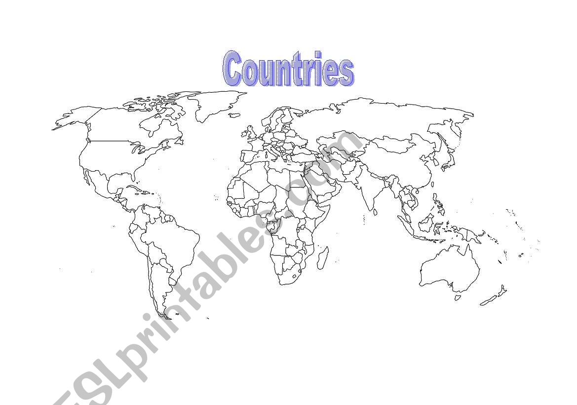 World Map Amp Questions