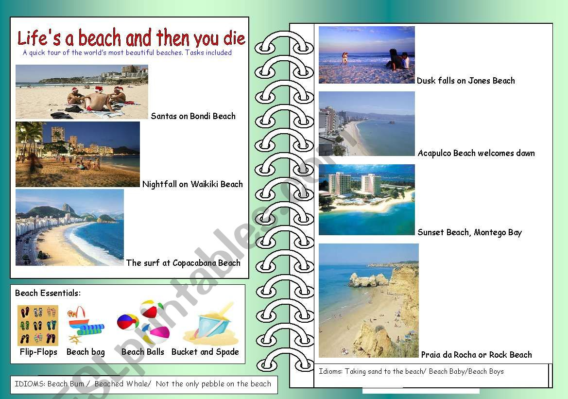 Life Is A Beach And Then You