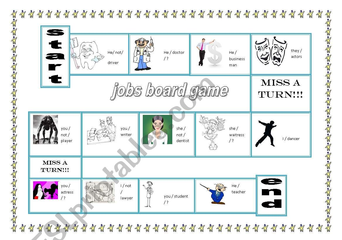 Jobs Board Game