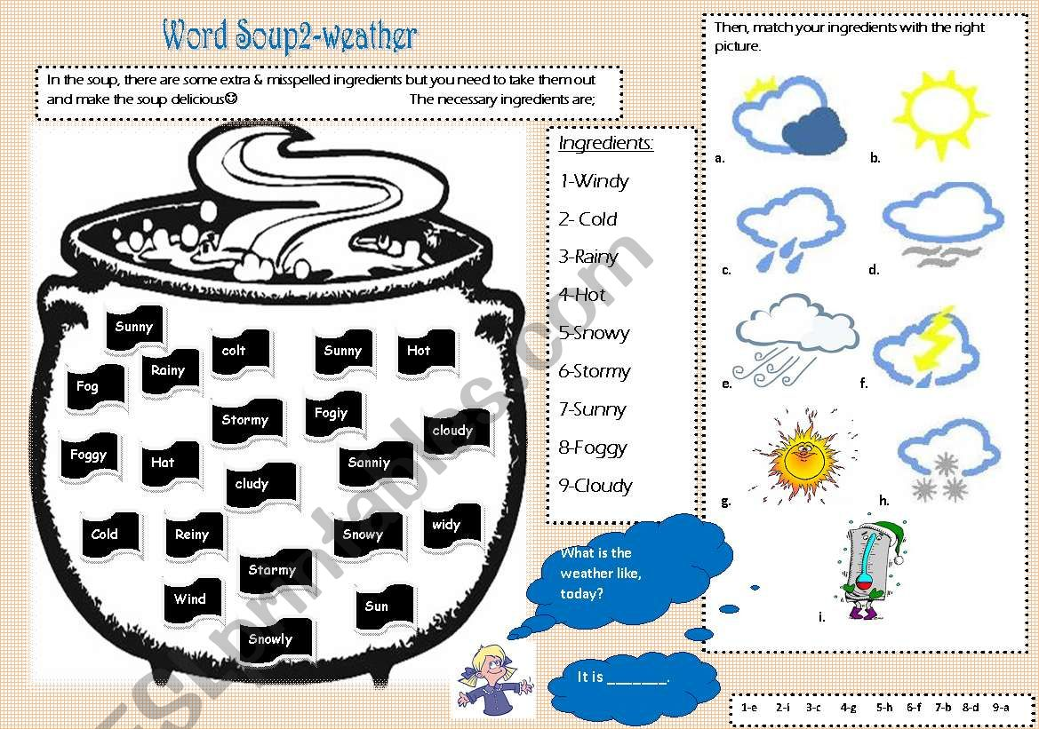 Word Soup2 Weather