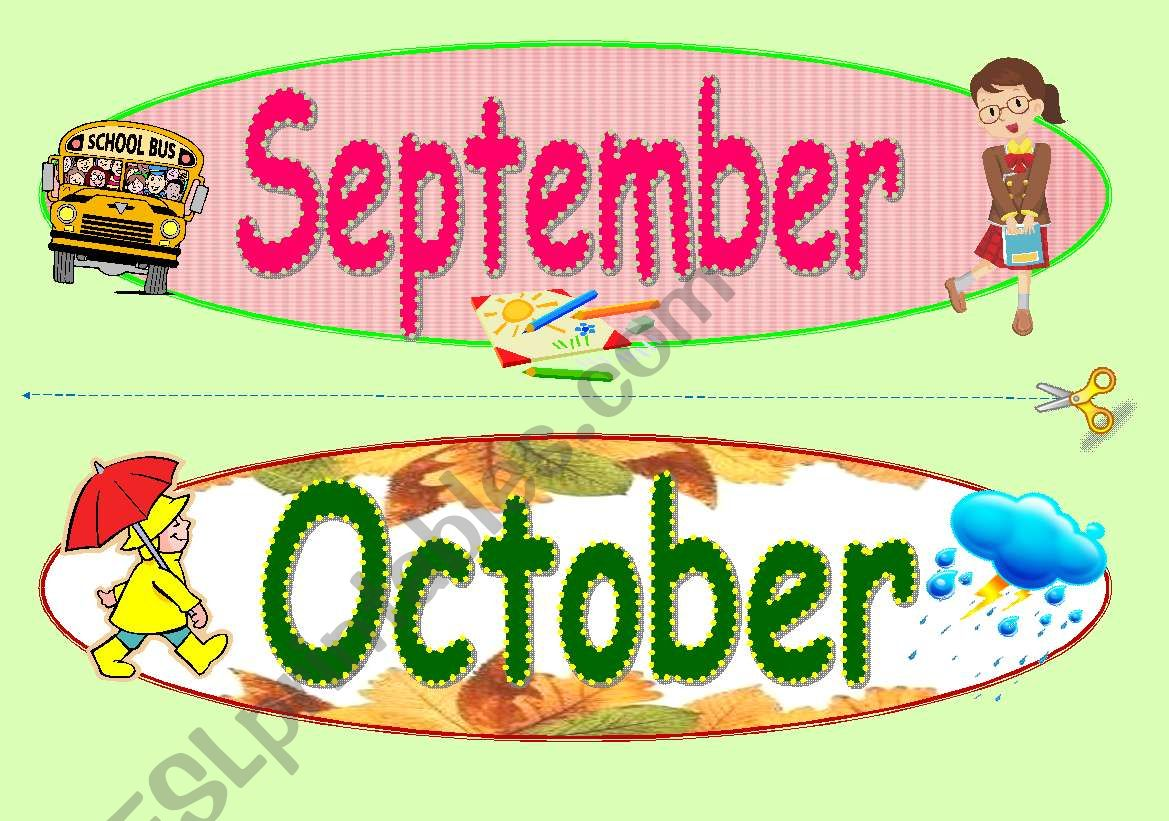 Months Of The Year Part 3