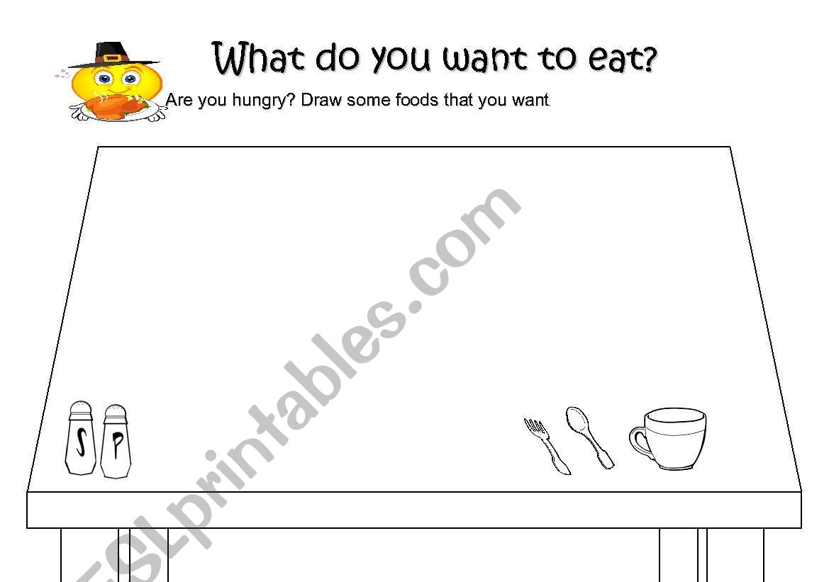 What Do You Want To Eat