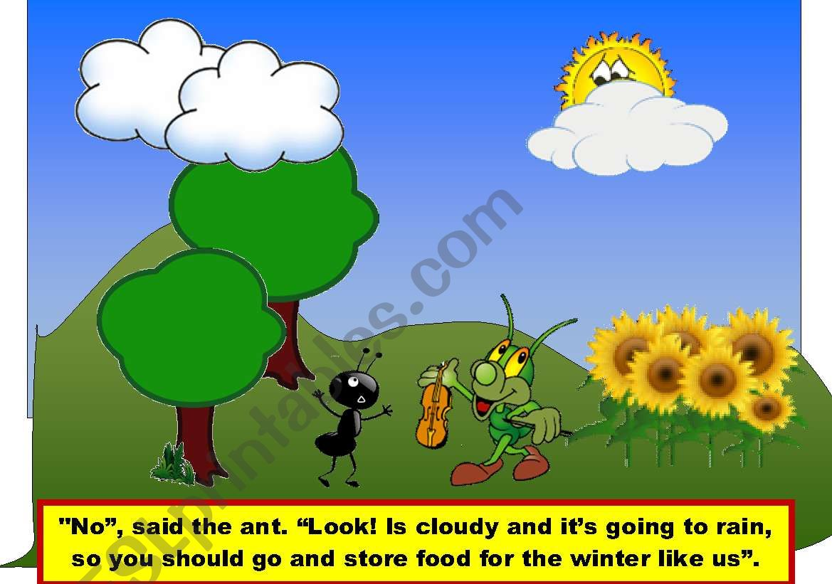 The Grasshopper And The Ants 2 2