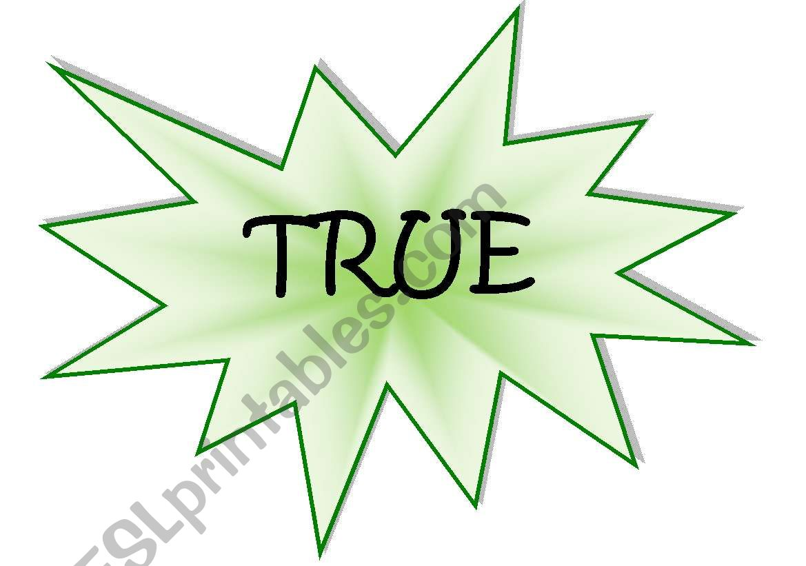 True X False Game