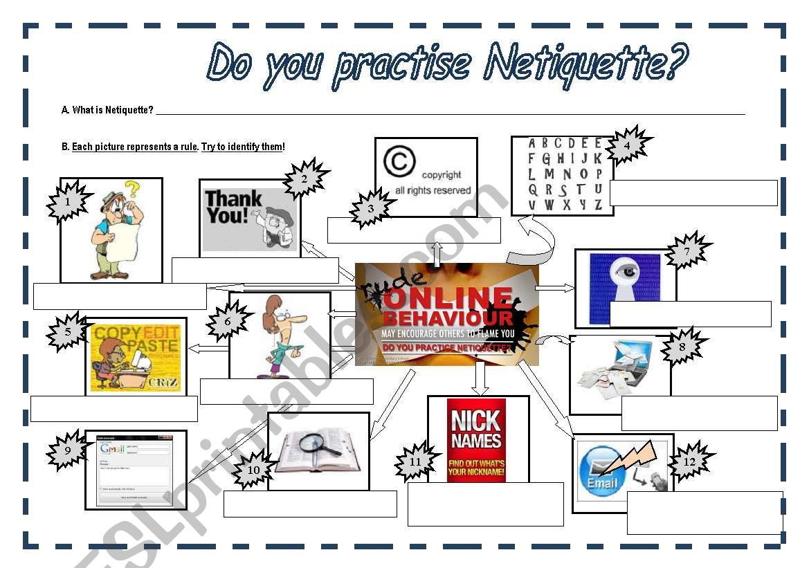 Do You Practise Netiquette