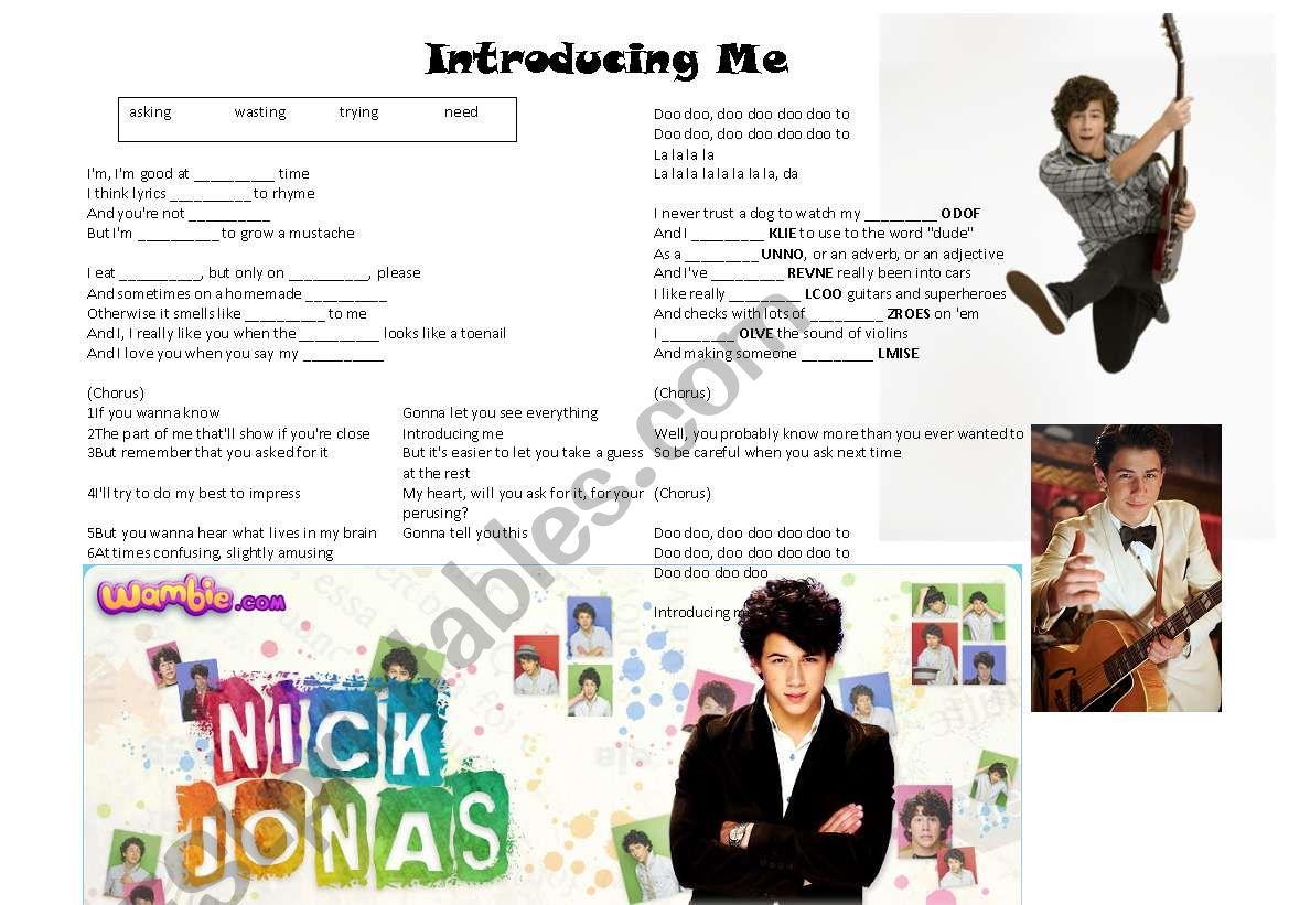 Introducing Me Nick Jonas