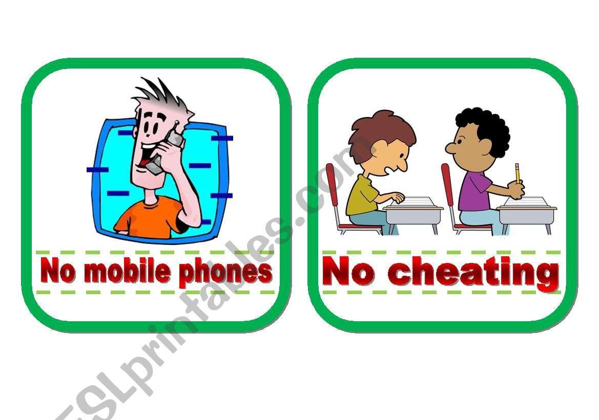 Classroom Rules Part 2
