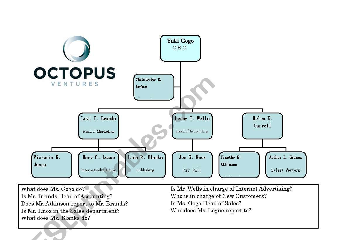 Business Company Structure 2