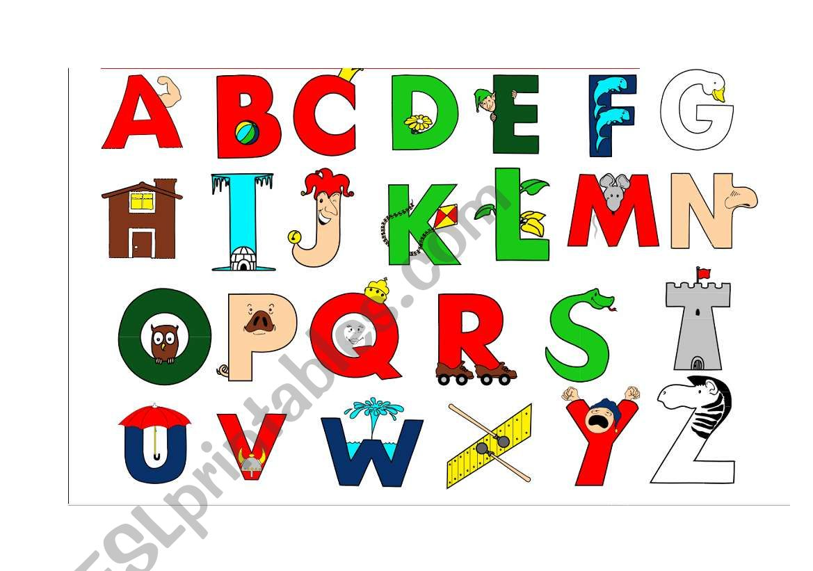 Alphabet Objects Doc