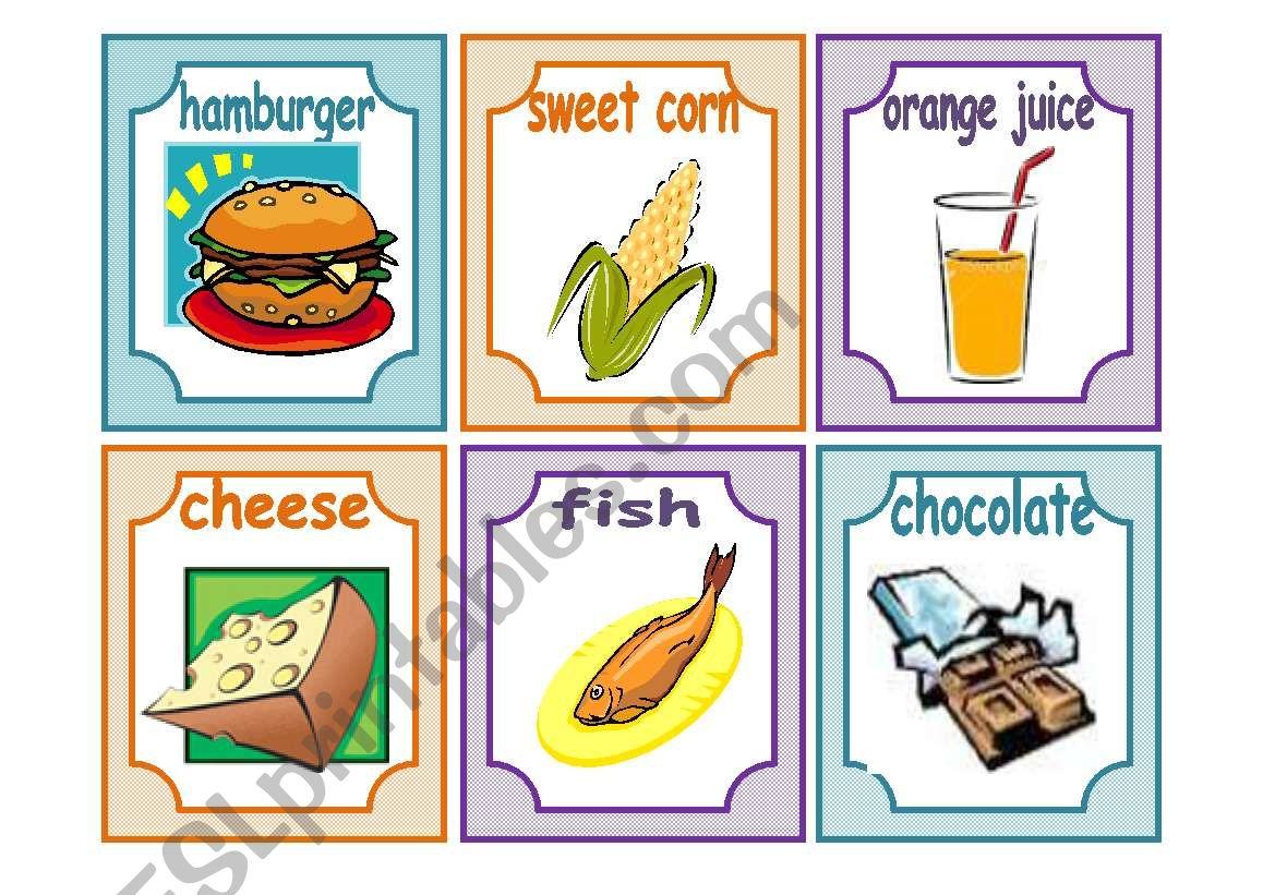 Food 24 Flashcards