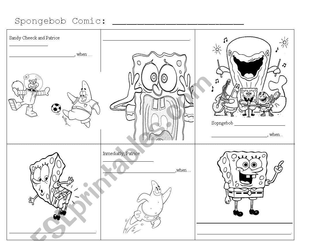 Spongebob Comic