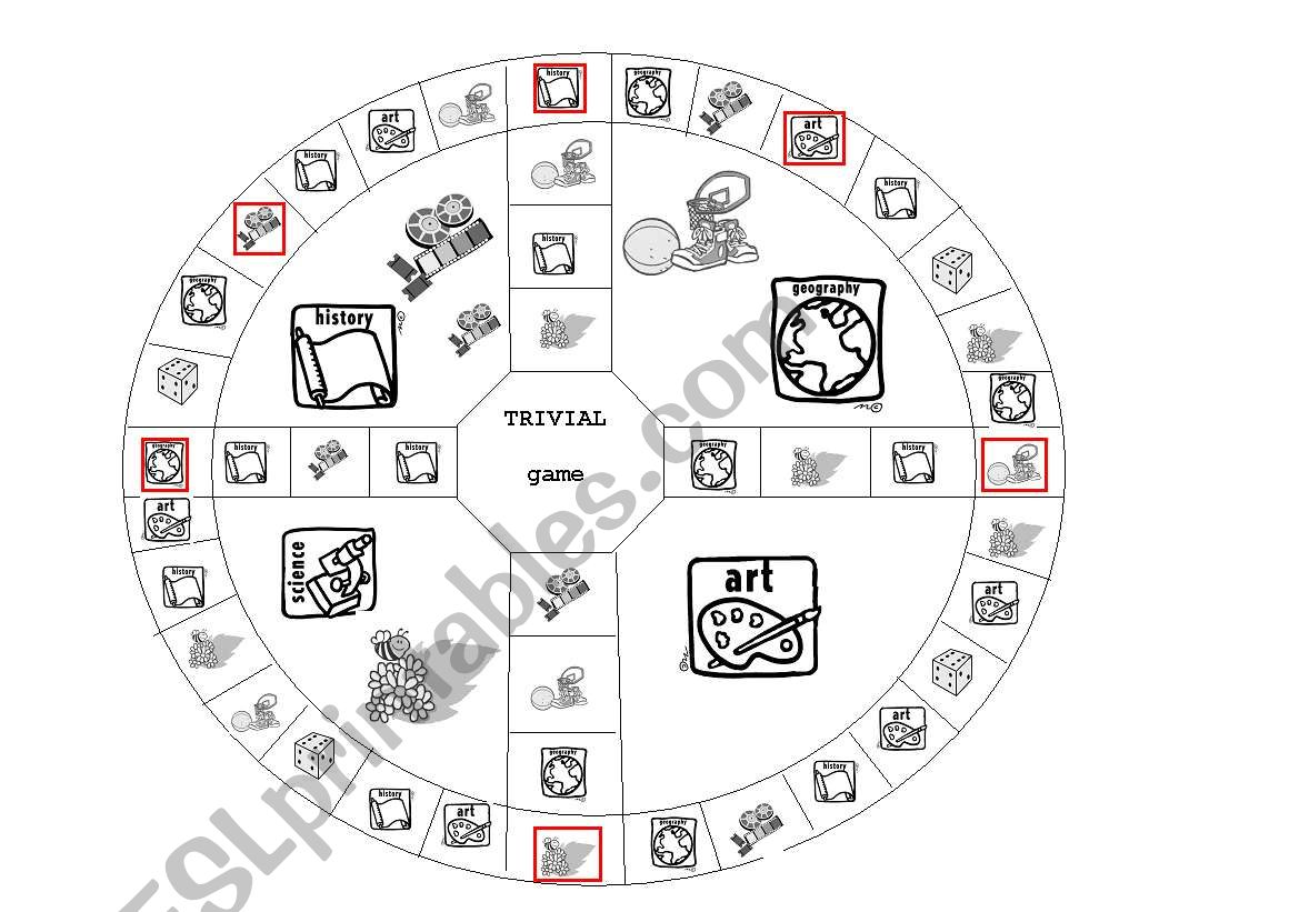 Trivial Boardgame