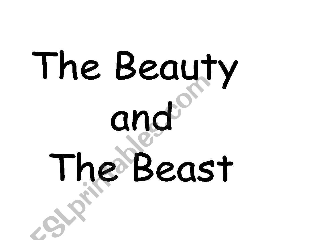 Story Beauty And The Beast Tasks