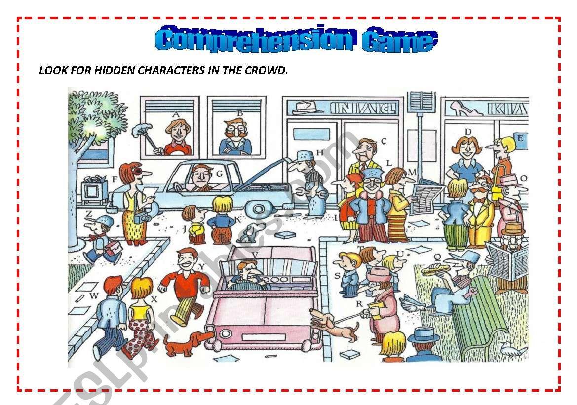 Comprehension Game