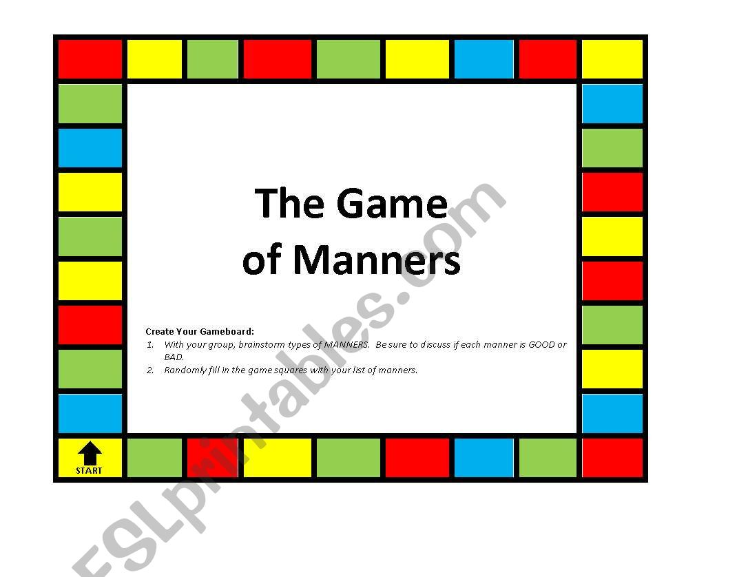 Game Of Manners