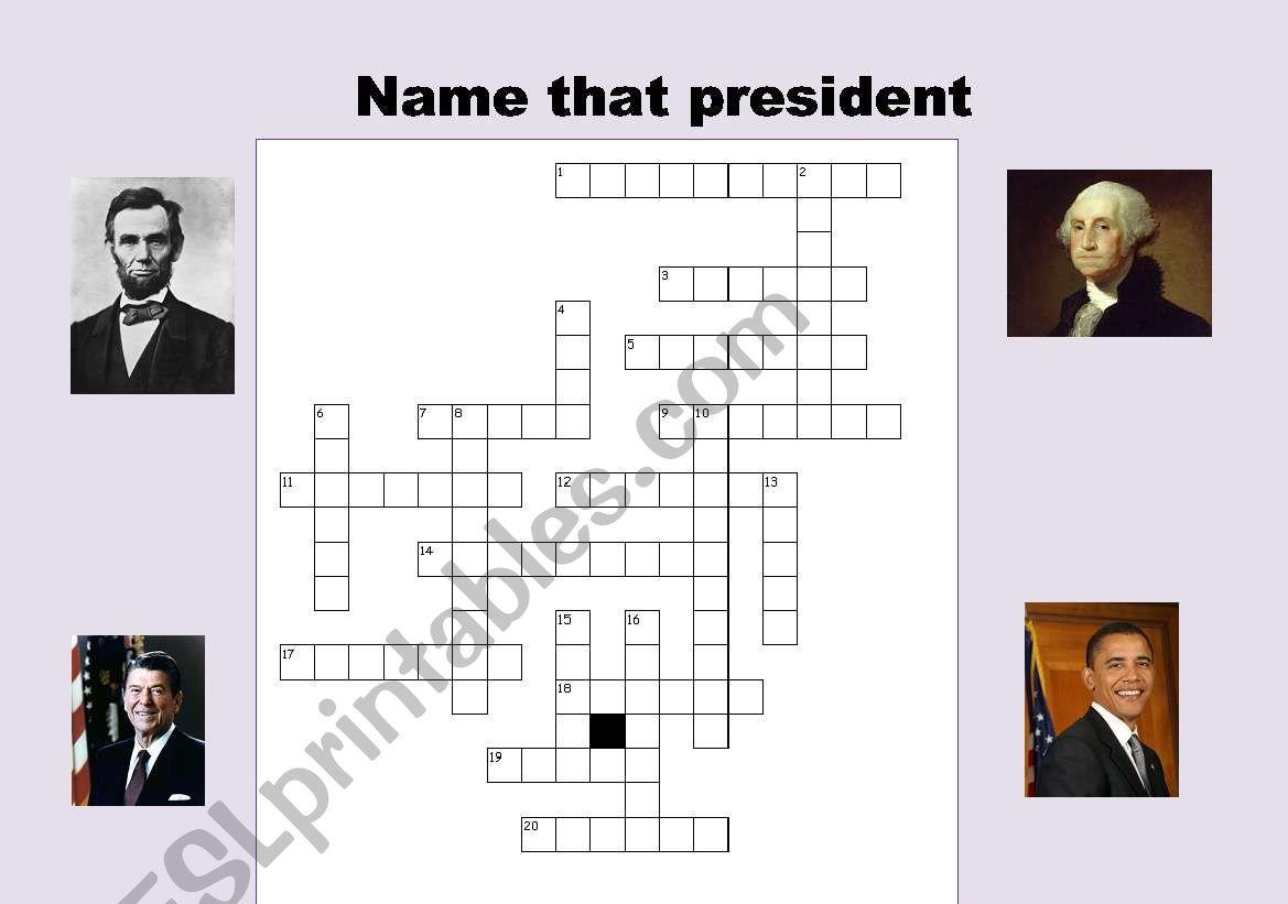 Name That President