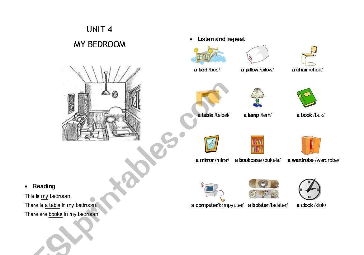 English Worksheets Unit 4