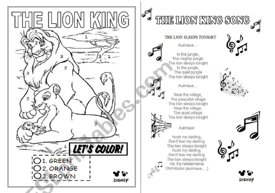 Song The Lion King