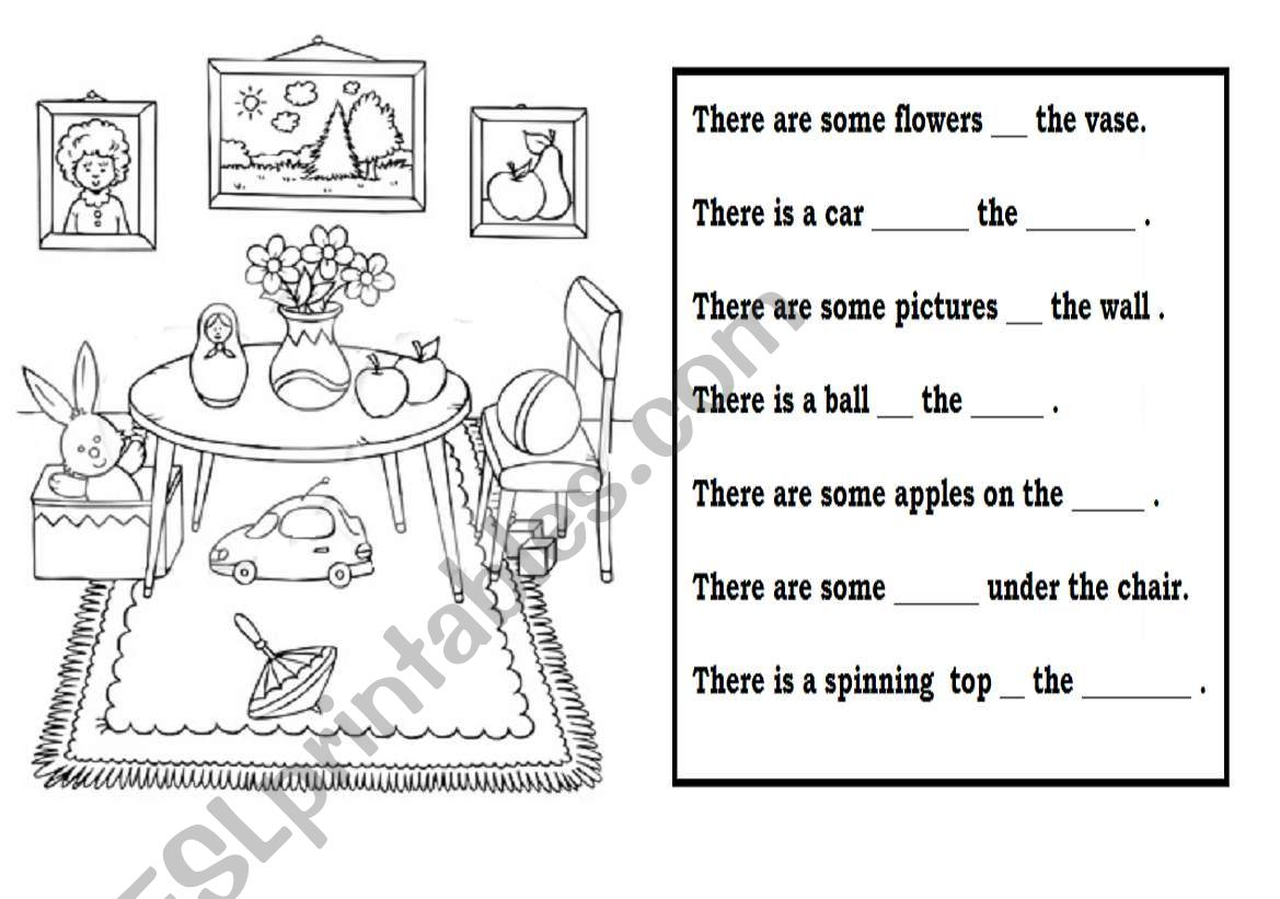 Worksheet With Preposition Of Time